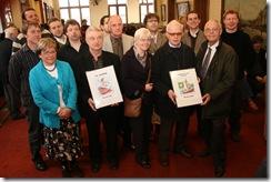 De laureaten der Persprijzen 2008