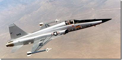 F 5 gevechtsvliegtuig Northrop-Grumman