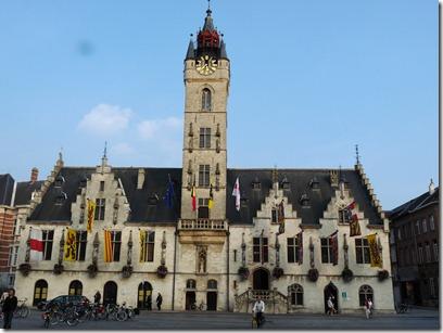 Reuzenroute - Dendermonde stadhuis - 28-09-2008 - 8