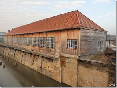 Baasrode - Scheepvaartmuseum - Houten loods Van Damme