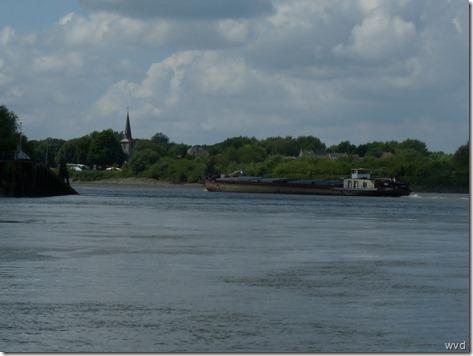 De Schelde in Sint- Amands