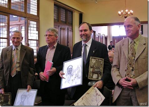 Persprijs 2004 - Laureaten - Jozef Kuppens en Dr. Firmin De Brandt