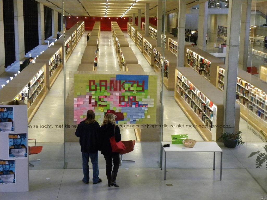 Nieuwe dendermondse bib behaalt prijs bouwmeester 2011 willy van damme 39 s weblog - Interieur bibliotheek ...