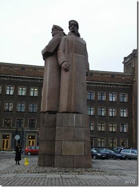 Standbeeld ter ere van de Letse Jagers