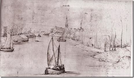 Baasrode - Ca. 1560 - Scheldezicht - Pieter Bruegel de Oude