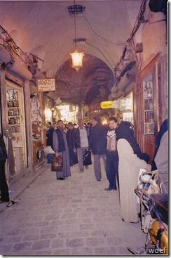 Syrië - bazaar - handelslui - 1