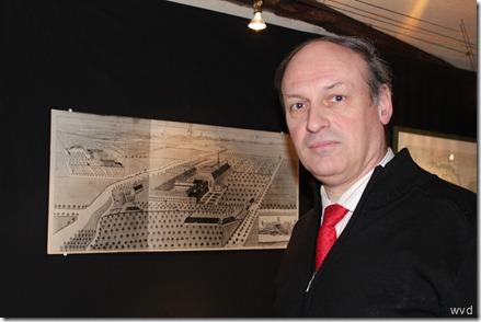 Stadsarchivaris Aimé Stroobants en de tentoonstelling over de abdij van Zwijveke