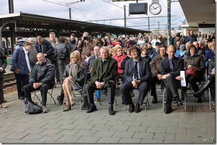 Viering 175 jaar spoorwegen - Station Dendermonde
