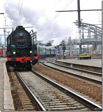 Viering 175 jaar spoorwegen - Dendermonde station - 15-04-2012