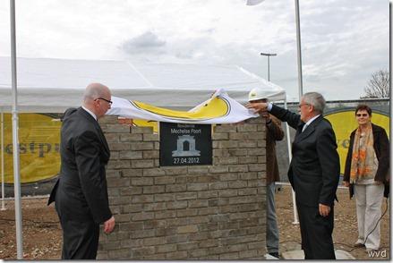 Eerste Steenlegging - Residentie Mechelse Poort - 27-04-2012