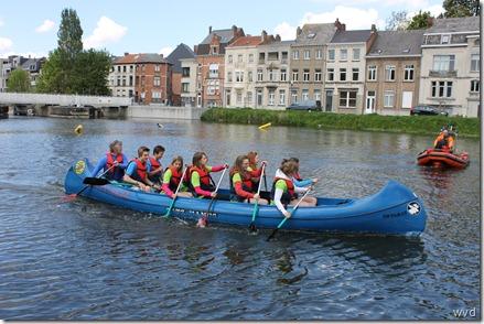 Regatta Dendermondse scholen 16 mei 2012