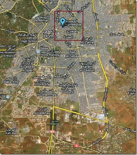 Homs - Christelijke wijk