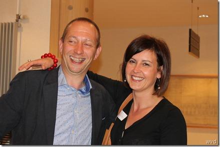 Bart Van Malderen met Fanny Biesemans