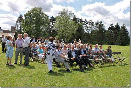 Eerstesteenlegging Het Kluster, Grembergen - 30-06-2012