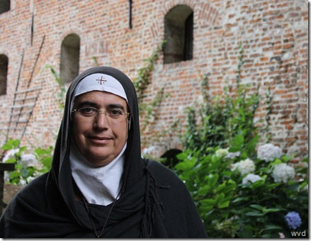 Zuster Agnes-Mariam van het klooster Mar Yacub