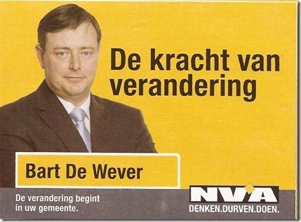 Bart De Wever - Kiescampagne 2012 - 1