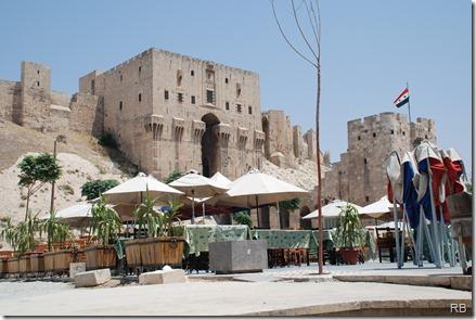 De citadel van Aleppo