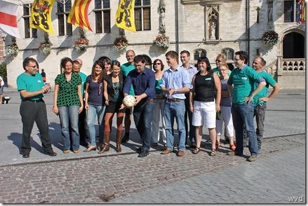 Groen Dendermonde en Lebbeke - Geeft de aftrap met Wouter Van Besien