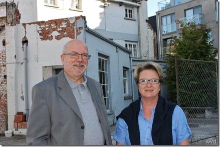 Theo Janssens en Carine Verhelst