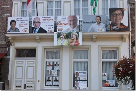 Kiescampagne CD&V Gemeenteraadsverkiezingen 2012