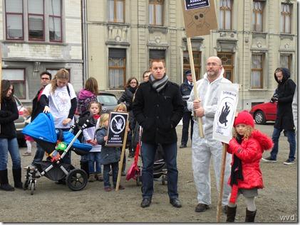 Asbestbetoging Dendermonde - 11-11-2011