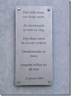 Herdenkingsplaat Fabeltjesland aanslag Kim De Gelder