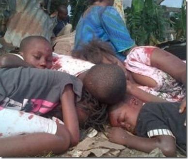 Brazzaville -  Ontploffing Mpila 04 maart 2012