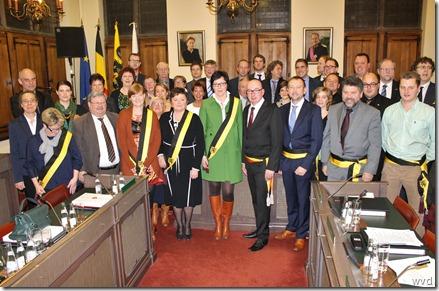 Dendermondse gemeenteraad legislatuur 2013-2018