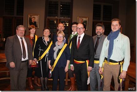 Dendermonds schepencollege legislatuur 2013-2018