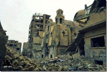 Grieks orthodoxe kerk van de Heilige Apostelen in Deir Ezzor, Syrië
