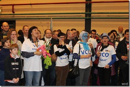 VC Oudegem - Viering Beker van België - 17 februari 2013