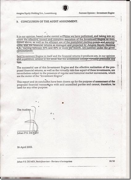 Landon Partners Corporation - Opinie Johan P.S. De Mey