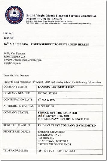 Landon Partners Corporation