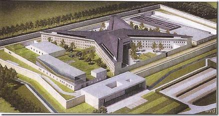 Toekomstig gevangenisgebouw Dendermonde