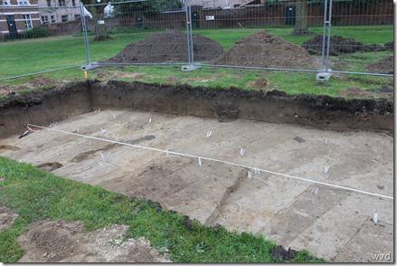 Graven op het Sint-Alexiusbegijnhof