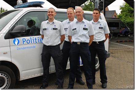 Bart Van Herrewegen, Johan Sanders, Edwig Verdonck en Yannis Annemans