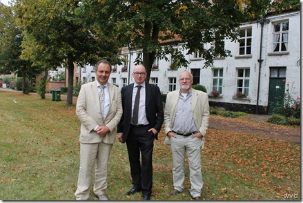 Kris Verwaeren (l), Piet Buyse & Marc Block (r)