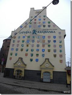 Riga, Letland - Latvijas Krajbanka