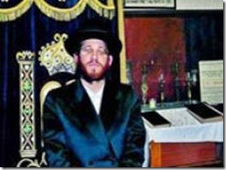Moshe Friedman in Weense synagoge - 2