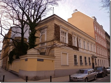 Synagoge, Lorbeergasse 9, Wenen
