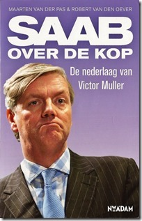 Victor Muller - Saab over de kop - boekkaft