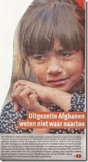 Afghaanse kinderen in tranen - Het Laatste Nieuws - 27-09-2013