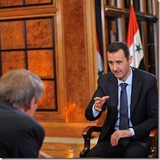 Bashar al Assad - In gesprek - Instagram