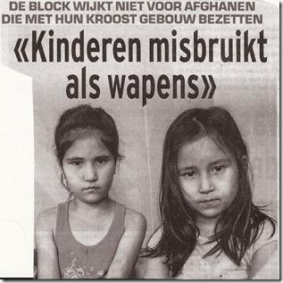 Maggie De Block en Afghaanse kinderen - Kinderen als wapen - He