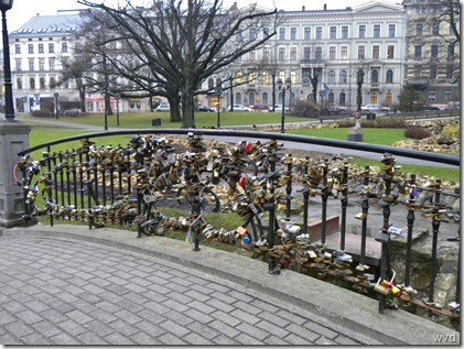 Kronvalda parks, zijrivier Daugava, Riga - Letland