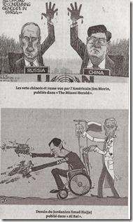Syrië - Le Monde - Plantu en Cartooning for Peace - September 2
