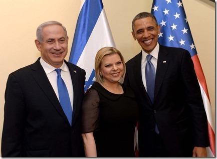 Benjamin Netanyahu en Barack Obama - 3