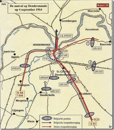 Aanval op Dendermonde van 4 september 1914