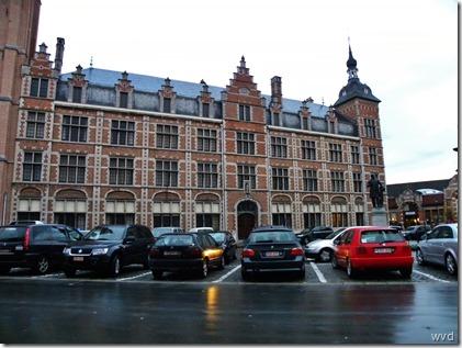 Klooster Zwartzusters, Vlasmarkt Dendermonde