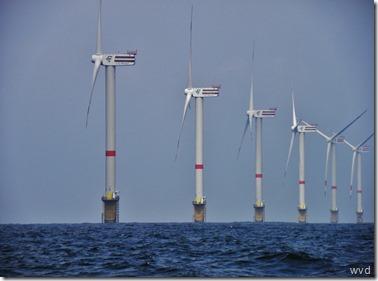 Windmolenpark, Thorntonbank, Noordzee